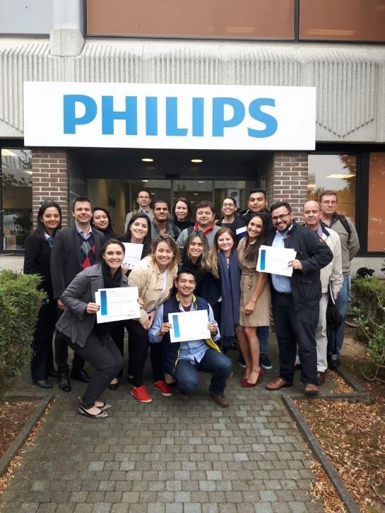 Equipe VH participa de treinamento na Bélgica