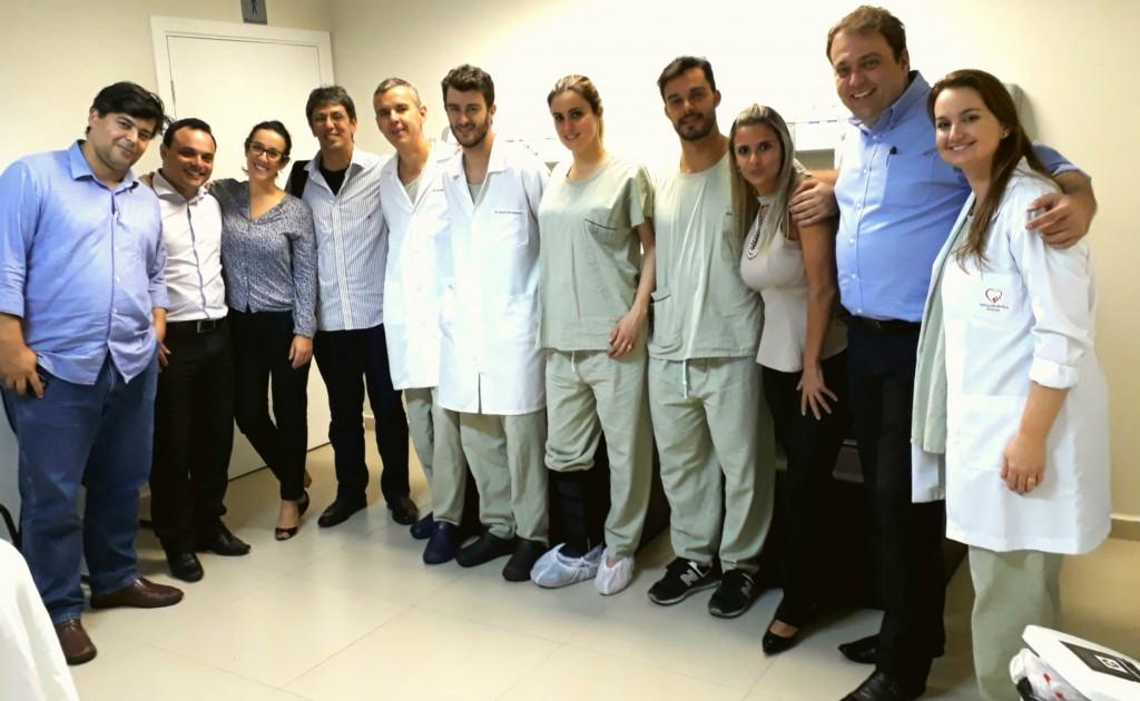 Primeiro procedimento MitraClip realizado em Franca